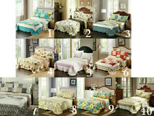 Tache Spring/Summer Reversible Multi-Pattern Multi-Color Floral Quilt Bedspreads