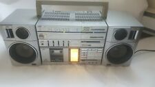 ** FREE SHIPPING ** 100% WORKING VINTAGE JVC BOOMBOX GHETTO BLASTER 1980s PC-55