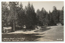 1930s Zan RPPC Postcard of Adanac Resort & Pond Cummings CA