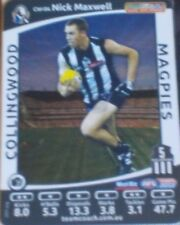 2012 Teamcoach Captain Wildcard #CW-04 Nick Maxwell - Collingwood