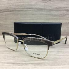 Prada VPR08S Eyeglasses Opal Light Brown Gold UED-1O1 Authentic 55mm