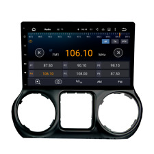 """10.2"""" Android Car GPS System Stereo For Jeep Wrangler Navigation Radio 2016+ BT"""