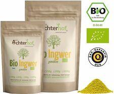 Bio Ingwer gemahlen 500g | Ingwerpulver kbA | Ingwerwurzel | auch für Ingwertee