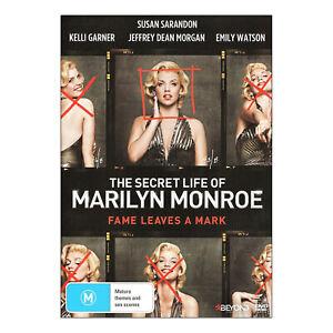 The Secret Life of Marilyn Monroe (Complete Mini Series) DVD New  - Free Post