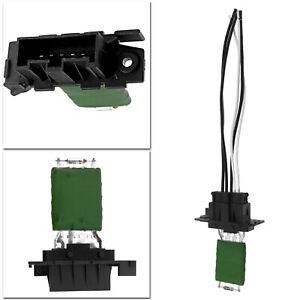 For Fiat Punto Doblo Car Heater Blower Motor Fan Resistor & Wiring Loom Harness
