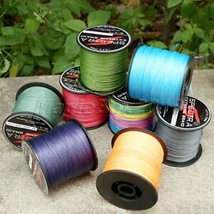 8 Strands 300M 500M 1000M Super Strong Dyneema Spectra PE Braided Fishing Line