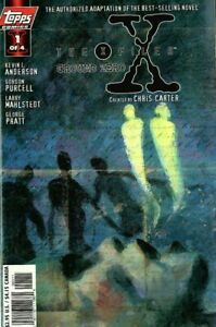 X-Files Ground Zero #1-4 Comic Set 1998 - Topps Comics - Scully Mulder