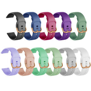 Silicone Sport Wrist Band Strap For Samsung Galaxy Watch 3 41mm/Active2 40/44mm