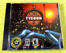 Oil Tycoon ~ PC CD Rom Game ~ Windows Computer Video Game