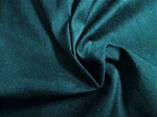 "Silk Shantung~Dark Hunter Green~9""x22""~Do ll Fabric"
