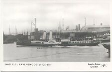 Ravenswood at Cardiff Paddle Steamer Modern Postcard by Pamlin SM631