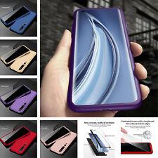 For Xiaomi Redmi Note 9 8 Pro 8T Mi 10 CC9 360° Protect Cover+Tempered Glass
