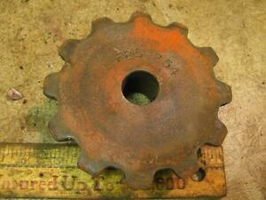 FB5-254 Chain Drive Sprocket Implement Planter?? Drill?? Orange Paint??