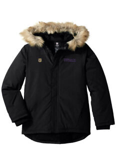 🏈  Official NFL Minnesota Vikings Heavy Weight Parka Jacket Youth XL (18) NEW!