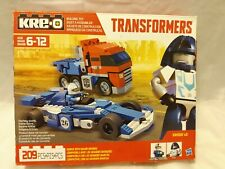 Kreo Transformers Optimus Prime Mirage Racedriver 209 PCS