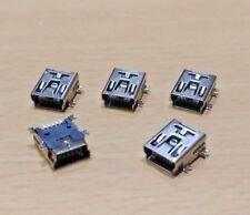 5 PACK - 5 PIN PCB SMT/SMD Mini B USB 2.0 Socket