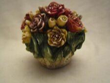 Harmony Kingdom Rose Bud Lord Byron's Harmony Garden Flower