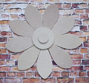 MDF 3D Big Flower Shape Wall Decoration-toy box-names-BUY 3 GET 1 FREE