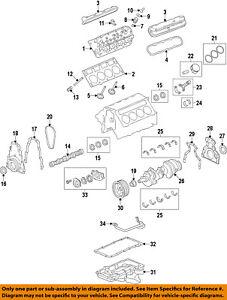 GM OEM-Engine Crankshaft Crank Seal 12627520