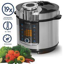 6 Liter Edelstahl Schnellkochtopf Kochautomat cooker Multikocher Reiskocher  NEU