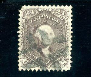 USAstamps Used VF US Serie of 1861 Washington Scott 78 Cancel