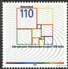 BRD (BR.Duitsland) 2005 First Day Cover 1998 Wiskundecongres in Berlijn
