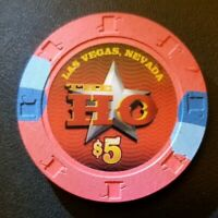 RARE $5 The Westward HO Chip from Las Vegas NV - Must Have for Chip Collector