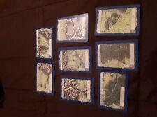 Lote 8 cartas SEÑOR DE LOS ANILLOS SDLA 1995 coleccion Tierra Media Mapa