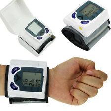 Digital LCD Display Wrist Blood Pressure Monitor Heart Beat Meter Pulse Accurate