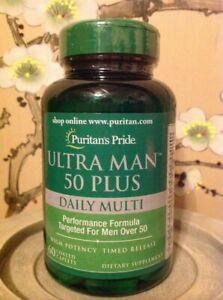 Puritan's Pride Ultra Man 50 Plus Caplets