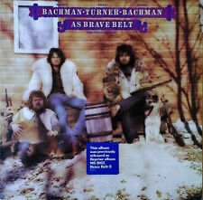 BACHMAN-TURNER-BACHMAN - AS BRAVE BELT - REPRISE MS 2210 - 1974 LP + STICKER