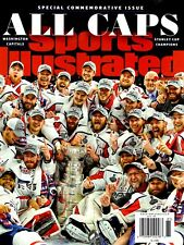Sports Illustrated Magazine Commemorative 2018 Champions WASHINGTON CAPITALS