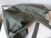 Vintage US Army Green Military Duffle Backpack Bag Canvas Deployment Rucksack