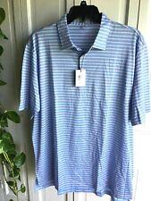 NWT $95 Peter Millar  Crown Ease  Polo Shirt Size XXL