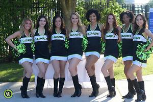 NY Lizards Professional Lacrosse Team 1 Piece Cheerleader / Dance Team Uniform