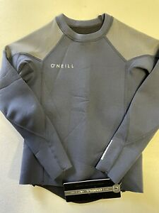 Oneill Wetsuit Top Boys Youth size 8 blue/grey