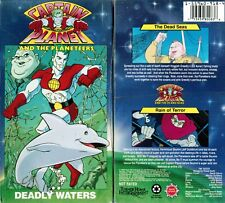 Captain Planet and Planeteers Deadly Waters VHS Video Tape New David Coburn