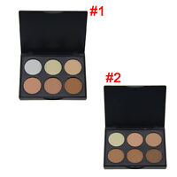 6 Colors Contour Pressed Face Highlighting Bronzing Powder Makeup Blush Palette
