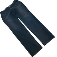 Chico's Platinum Denim Black Mid Rise Stretch Skinny Jeans Size 1 or 8 29X31