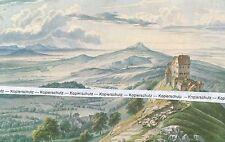 Rechberg gegen Hohenstaufen - um 1840 - Kunstdruck - Schwäbische Alb  N 2-16
