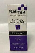 Brand New! NailTek Strengthener Xtra - 4 - Weak & Damaged Nails - 15ml / 0.5 oz