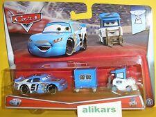 RUBY EASY OAKS & EASY IDLE PITTY Mattel Disney Pixars Cars 1:55 Metal Diecast