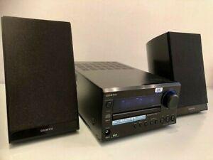 Onkyo CR-325 DAB HiFi Amp CD Tuner + Onkyo 2-Way Bass Reflex Speakers + Remote