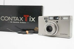 [MINT w/ BOX] CONTAX Tix APS Film Point & Shoot Camera / Sonnar 28mm f/2.8 Japan