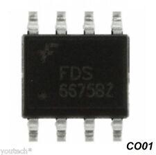 FDS6675BZ FDS6675 Circuit intégré Fairchild pour PC portable HP, Compaq...