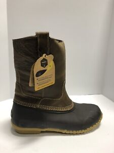 Georgia Boot Marshland Mens Waterproof Boots Brown Size 9 M