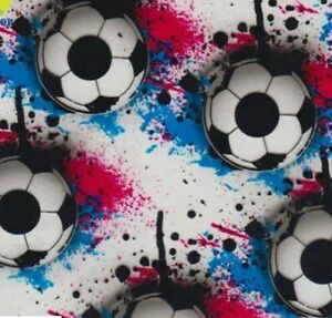 WATER TRANSFER HYDROGRAPHIC FILM HYDRO DIP HYDRO-DIPPING SOCCER BALLS 2 1M