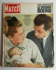 N35 Magazine Paris-Match N°690 30 juin 1962 baptême D'Astrid, cour de Belgique