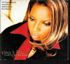 MAXI CD DIGIPACK 4 TITRES--MARY J. BLIGE--LOVE IS ALL WE NEED--1997