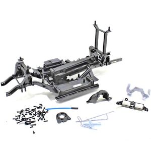 Traxxas TRX-4 Defender Rock Crawler Chassis Frame Skid Plates Tower Receiver Box